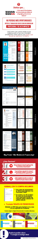 Curriculum Vitae + Carta De Presentacion + Tarjeta Personal $ 120.0 ...