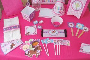 Kits imprimibles para fiestas y eventos