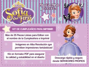Invitacion Princesa Sofia