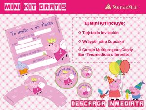 Mini Kit gratis Peppa pig