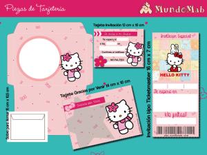 tarjetas de hello kitty para imprimir