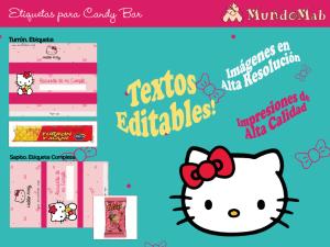 invitaciones cumpleaños Hello Kitty