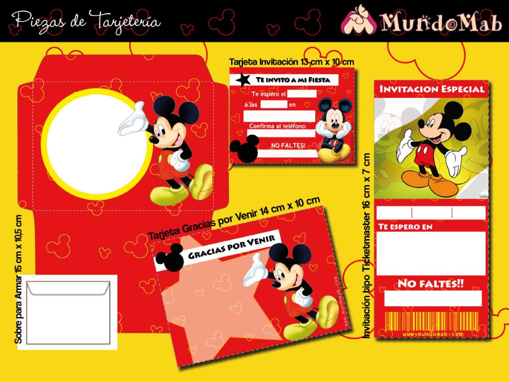 2 Mundo Mab Kits De Cumpleaños Para Imprimir