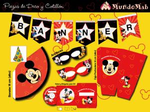 banner para imprimir de mickey mouse