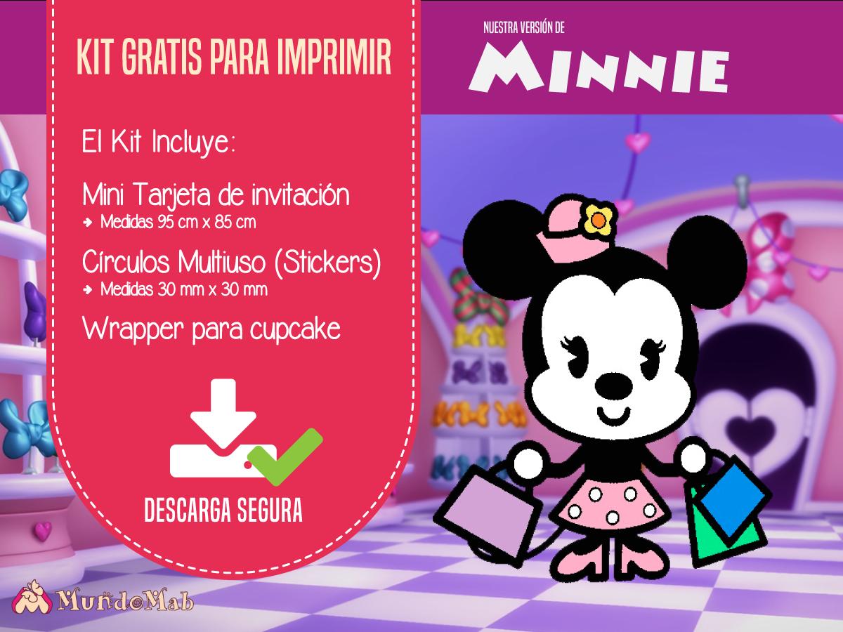 Minnie Invitaciones Gratis Para Imprimir