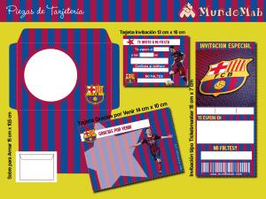 invitaciones de cumpleaños de barcelona