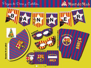 banner de cumpleaños de barcelona