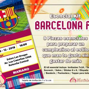kit de barcelona para imprimir
