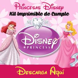 kit imprimible princesas