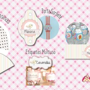 piezas para decorar evento de niña
