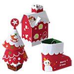 adornos navideños para imprimir y armar