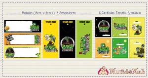 señaladores plantas vs. zombies