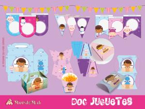 doc juguetes decoracion de cumpleaños