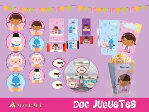 etiquetas de la doctora juguetes para candy bar