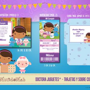 doc juguetes tarjetas de cumpleaños para imprimir